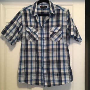 Short sleeved button down